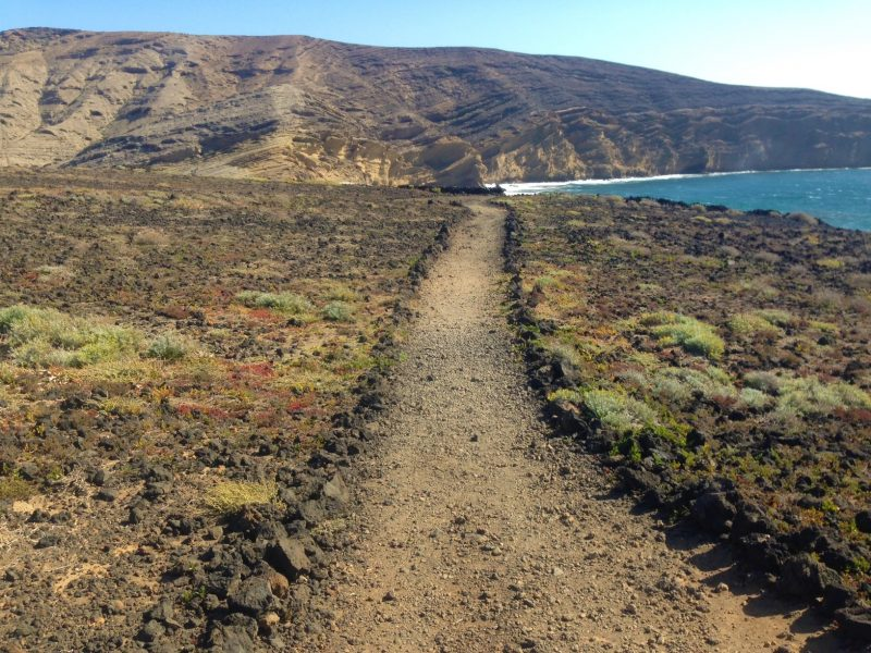 senderismo montaña pelada medano