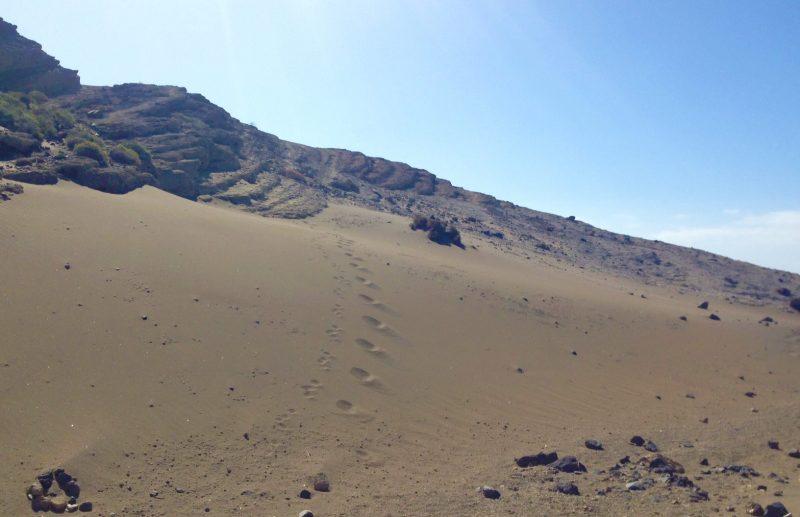 senderismo montaña pelada el medano