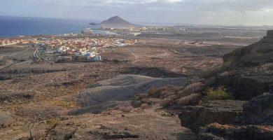 ruta montaña pelada tenerife