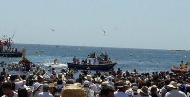 romeria barquera medano 2018