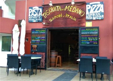 el medano comida italiana