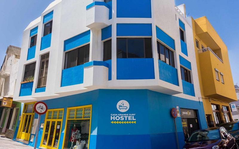 casa grande surf hostel el medano