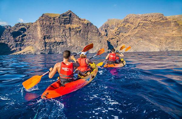 kayak los gigantes tenerife